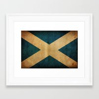 scotland Framed Art Prints featuring Scotland by NicoWriter
