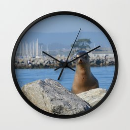slough buddy Wall Clock