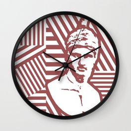 Gods Geometric - Ares Wall Clock