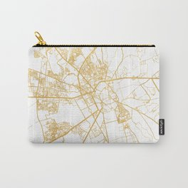 MARRAKESH MOROCCO CITY STREET MAP ART Carry-All Pouch