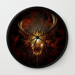 Let Rise the Inferno Wall Clock