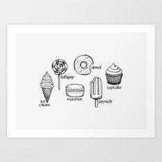 Sweets || Art Print