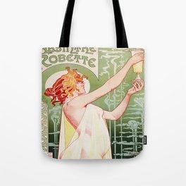 Art Nouveau Absinthe Robette Ad Tote Bag