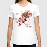 puppycat T-shirts featuring Bee and Puppycat by Artist Meli