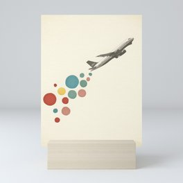 Leaving on a Jet Plane Mini Art Print
