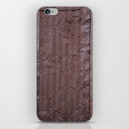Corrugated Wall iPhone Skin