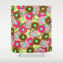 Dough Cats Shower Curtain