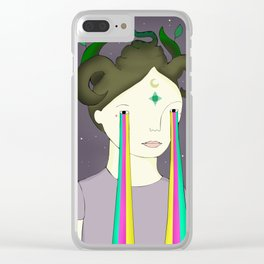 Self Portrait IV Clear iPhone Case