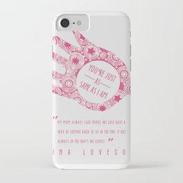 loony luna lovegood iPhone Case