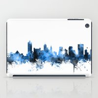 tennessee iPad Cases featuring Memphis Tennessee Skyline by artPause