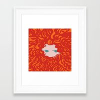 merida Framed Art Prints featuring Merida by Glopesfirestar
