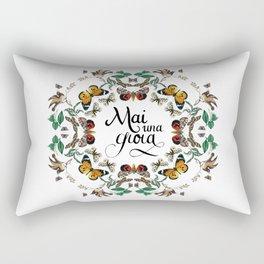 mai una gioia Rectangular Pillow