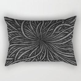Wormy Digging Rectangular Pillow
