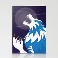 werewolf Stationery Cards featuring Werewolf by Designsbyemjay
