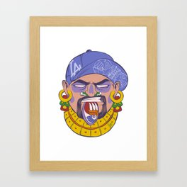 DTM Azteca Framed Art Print