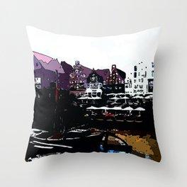 Luneburg Germany Throw Pillow