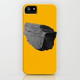 Yellow Boulder iPhone Case