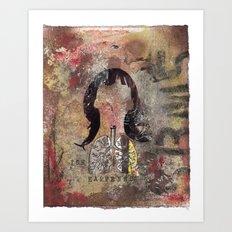 ISH HAPPENS. Art Print
