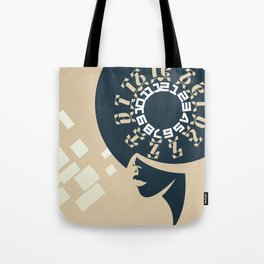 GEEZ-GIRL Tote Bag