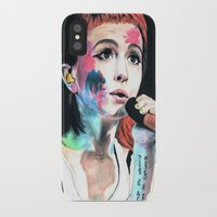 hayley williams iPhone & iPod Cases featuring Hayley Williams by alice kasper