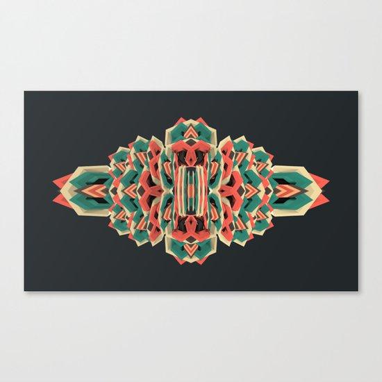 Calaabachti Stripes Canvas Print