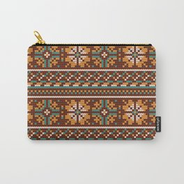 Pattern in Grandma Style #21 Carry-All Pouch