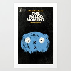 The Waldo Moment Art Print