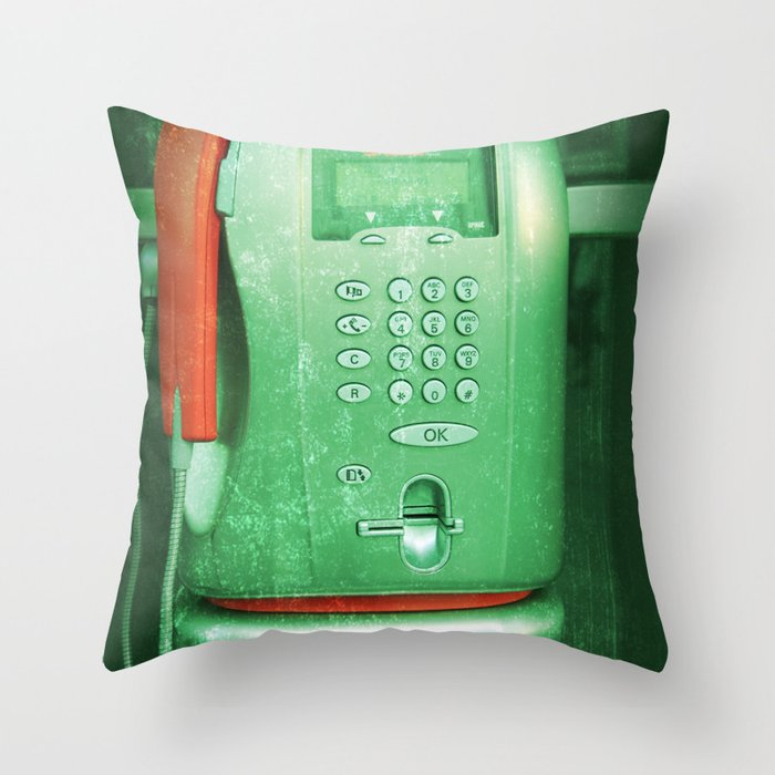 re-public Throw Pillow