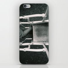 Girl Going Up Stairs iPhone & iPod Skin
