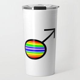 symbol of man 2 Travel Mug
