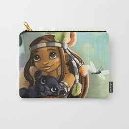 Indie and tiger Carry-All Pouch