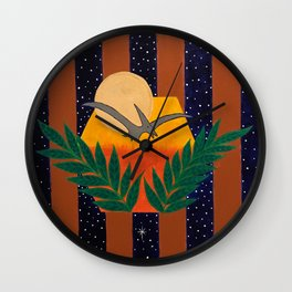 Lights in the Sky #3 Wall Clock