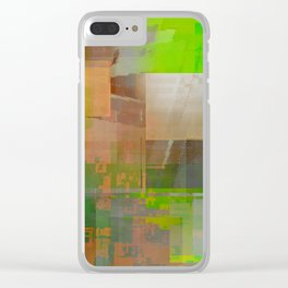 thinkin' of spring Clear iPhone Case