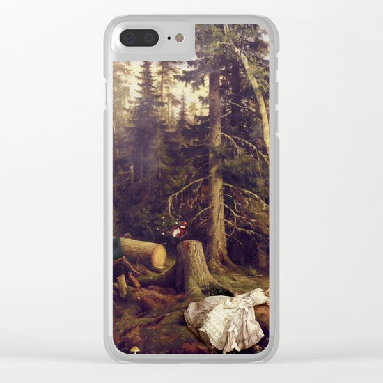 Matter of Course Clear iPhone Case