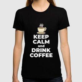 morning muffle gift coffee bean coffee T-shirt
