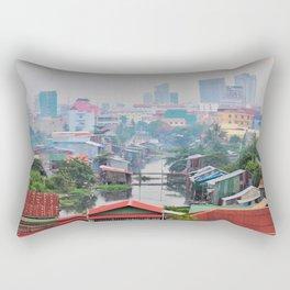 stinky creek 2. Rectangular Pillow