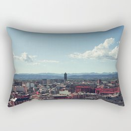 Red city Rectangular Pillow