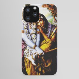 Hindu Krishna 3 iPhone Case