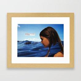 Scylla and Charybdis Framed Art Print