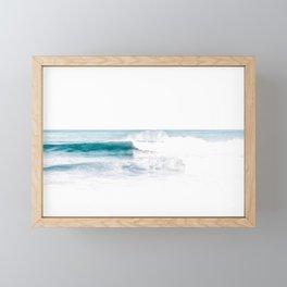 ocean breeze Framed Mini Art Print