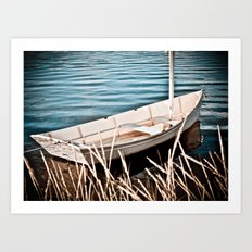 Without a Paddle Art Print