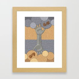 Deeply Rooted - (Artifact Series) Framed Art Print