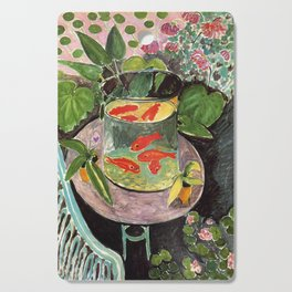 Henri Matisse Goldfish 1911, Goldfishes Artwork, Men, Women, Youth Cutting Board
