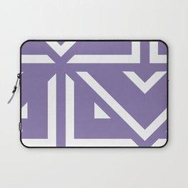 Lavender Pattern Laptop Sleeve