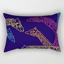Giraffic Park Rectangular Pillow