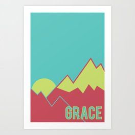 What Are We For: Grace Art Print