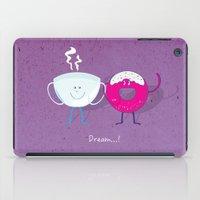 donut iPad Cases featuring Donut by Tony Vazquez
