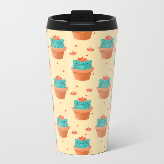 Catcus Metal Travel Mug