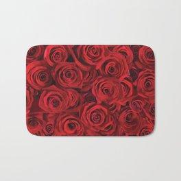Valentine's day rose Bath Mat