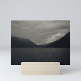 Moody Lake Mini Art Print